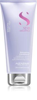 Alfaparf Milano Semi di Lino Smooth après-shampooing lissant pour cheveux indisciplinés et frisottis