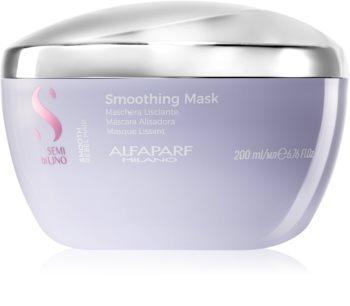 Alfaparf Milano Semi di Lino Smooth masque lissant pour cheveux indisciplinés et frisottis