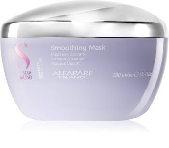 Alfaparf Milano Semi di Lino Smooth разглаживающая маска для непослушных, склонных к пушению волос