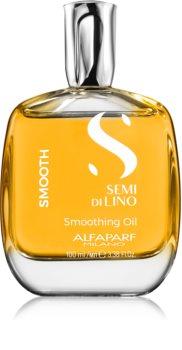 Alfaparf Milano Semi di Lino Smooth uhlazující olej pro nepoddajné a krepatějící se vlasy