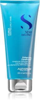 Alfaparf Milano Semi Di Lino Curls Conditioner Lockenpflege für lockiges Haar