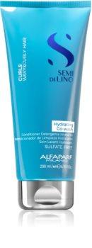 Alfaparf Milano Semi Di Lino Curls Soin lavant hydratant pour cheveux bouclés