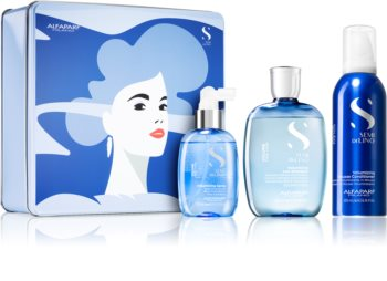 Alfaparf Milano Semi di Lino Volume Gift Set (For Fine Hair And Hair Without Volume)
