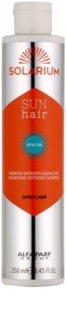 Alfaparf Milano Solarium champú nutritivo para cabello maltratado por el sol