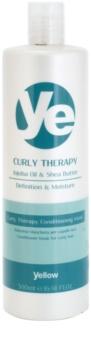 Alfaparf Milano Yellow Curly Therapy acondicionador hidratante  para cabello ondulado