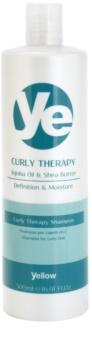 Alfaparf Milano Yellow Curly Therapy champô hidratante  para cabelo ondulado