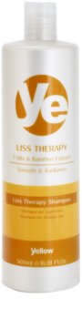 Alfaparf Milano Yellow Liss Therapy champô alisante para cabelo quimicamente tratado