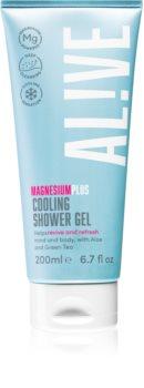 AL!VE Magnesium Plus Cooling gel de duche refrescante com efeito resfrescante