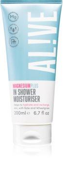 AL!VE Magnesium Plus In Shower gel de duche cremoso com efeito hidratante