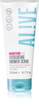 AL!VE Magnesium Plus Exfoliating gommage de douche
