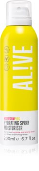 AL!VE Magnesium Plus Hydrating osviežujúci a hydratačný sprej na telo