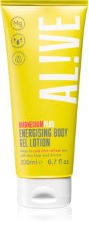 AL!VE Magnesium Plus Energising gel creme energizante para corpo