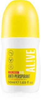 AL!VE Magnesium Plus Anti-perspirant Antiperspirantti Roll-on