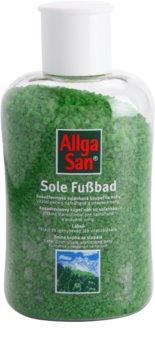 Allga San Feet & Leg kosodřevinová solanková koupel na nohy