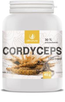 Allnature Cordyceps doplněk stravy pro posílení paměti, koncentrace a vitality