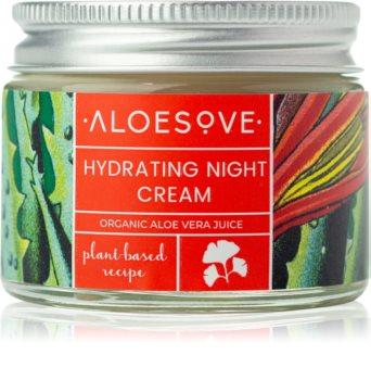 Aloesove Face Care nawilżający krem na noc do twarzy