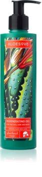 Aloesove Body Care gel regenerador para rosto, corpo e cabelo