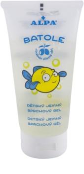 Alpa Batole dětský jemný sprchový gel s olivovým olejem