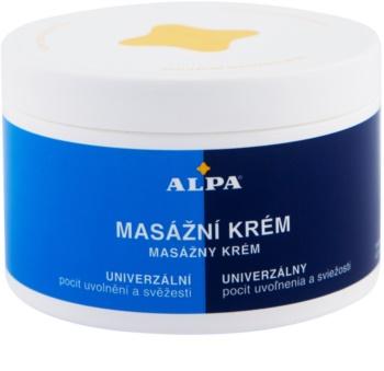 Alpa Massage Massagecreme