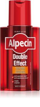 Alpecin Double Effect кофеїновий шампунь для чоловіків проти лупи та випадіння волосся