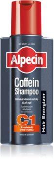 Alpecin Hair Energizer Coffeine Shampoo C1 σαμπουάν καφεϊνης για άντρες διέγερση ανάπτυξης μαλλιών