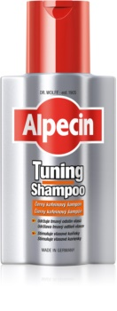 Alpecin Tuning Shampoo shampoing colorant premiers cheveux blancs