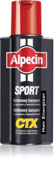 Alpecin Sport CTX champô de cafeína contra a queda de cabelo e energizante