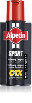 Alpecin Sport CTX shampoing à la caféine anti-chute de cheveux pendant un effort physique