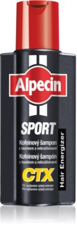 Alpecin Sport CTX кофеинов шампоан против косопад при увеличен разход на енергия