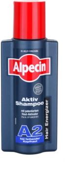 Alpecin Hair Energizer Aktiv Shampoo A2 sampon hajolajjal