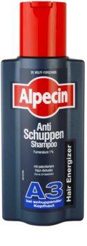 Alpecin Hair Energizer Aktiv Shampoo A3 Hiuksia Aktivoiva Hiustenpesuaine Hilsettä Vastaan