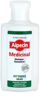 Alpecin Medicinal Keskitetty Hiustenpesuaine Rasvoittuville Hiuksille Ja Päänahalle