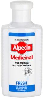 Alpecin Medicinal Fresh lozione tonica rinfrescante per cuoi capelluti grassi