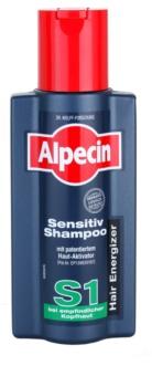 Alpecin Hair Energizer Sensitiv Shampoo S1 Hiuksia Aktivoiva Hiustenpesuaine Herkälle Päänahalle