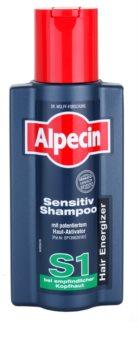 Alpecin Hair Energizer Sensitiv Shampoo S1 активиращ шампоан за чувствителна кожа на скалпа