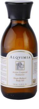 Alqvimia Silhouette tělový olej na odbourávání tuků