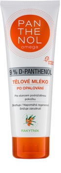 Altermed Panthenol Omega мляко за тяло за след слънце  с облепиха