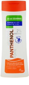 Altermed Panthenol Forte šampón proti lupinám pre mastné vlasy