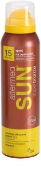 Altermed Sun SuperBronze sprej na opaľovanie SPF 15