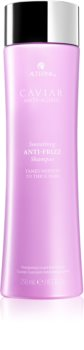 Alterna Caviar Anti-Aging Smoothing Anti-Frizz shampoing hydratant pour cheveux indisciplinés et frisottis