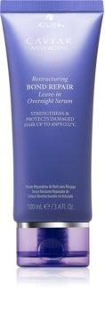Alterna Caviar Anti-Aging Restructuring Bond Repair нощен регенериращ серум за увредена коса