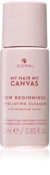 Alterna My Hair My Canvas New Beginnings eksfoliacijska čistilna emulzija s kaviarjem
