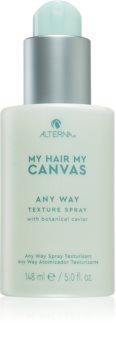 Alterna My Hair My Canvas Any Way spray alisador para dar definición y mantener la forma