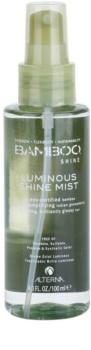 Alterna Bamboo Shine bruma para dar brillo y suavidad al cabello
