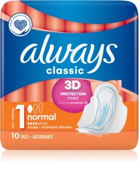 Always Classic Normal serviettes hygiéniques