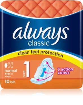Always Classic Normal санитарни кърпи