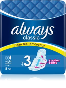 Always Classic Night serviettes hygiéniques