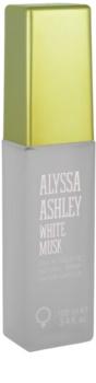 Alyssa Ashley Ashley White Musk Eau de Toilette para mulheres