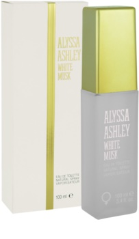 Alyssa Ashley Ashley White Musk eau de toilette da donna