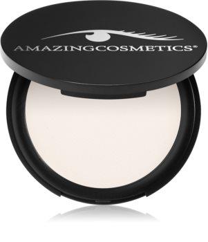 Amazing Cosmetics Velvet Mineral Powderset poudre de fixation transparente